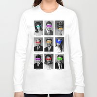 superhero Long Sleeve T-shirts featuring Superhero Academy by Ismael Sandiego