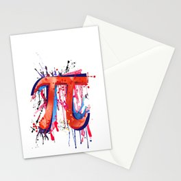 Emotional Pi Stationery Cards
