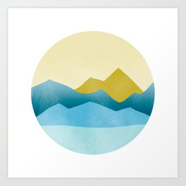 Ode to Pacific Northwest 1 Art Print