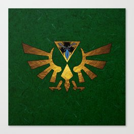 Tri Force of Zelda Canvas Print