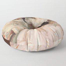 John Singer Sargent - Mrs Carl Meyer and her Children Floor Pillow