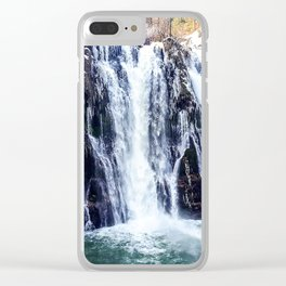 Burney Falls Clear iPhone Case
