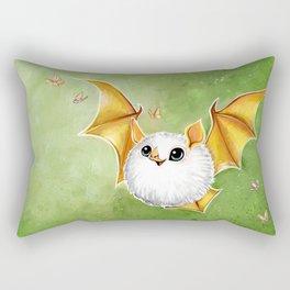 Cotton Ball Bat Rectangular Pillow