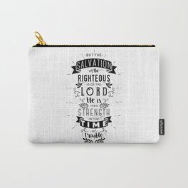 Psalm 37:39 Carry-All Pouch