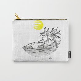 Yellow sun Carry-All Pouch