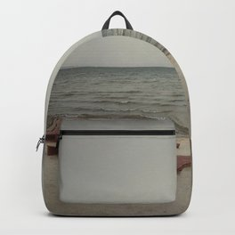 Empty beach 3 Backpack