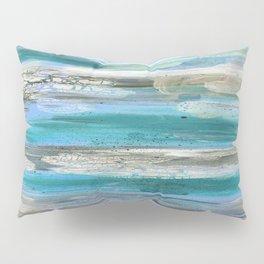 ROCK STUDY IN BLUES Pillow Sham