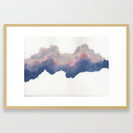 clouds_june Framed Art Print