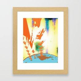 Sonic Invasion 2 Framed Art Print