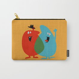 Hello Old Chum | Illustration of Friendship Carry-All Pouch