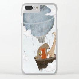 a big adventure Clear iPhone Case