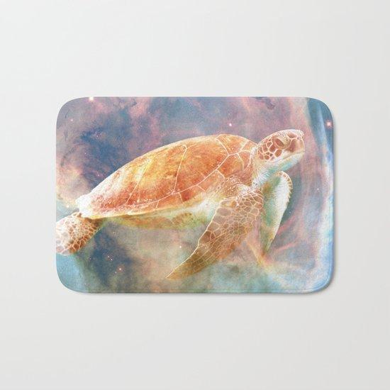 Nebula Turtle Bath Mat