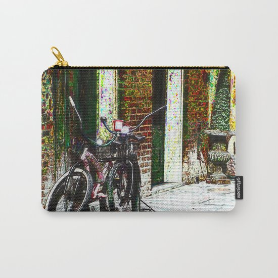 Two Bicycles In the Alley Carry-All Pouch
