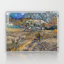 Vincent Van Gogh - Landscape at Saint Remy Laptop & iPad Skin