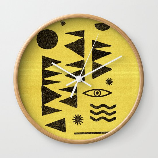 Tangential Paralysis. Wall Clock