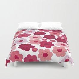 cherry blossom pop Duvet Cover