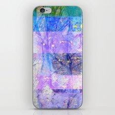 Glitched Tree Canopy iPhone & iPod Skin