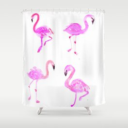 Pink flamingos Shower Curtain
