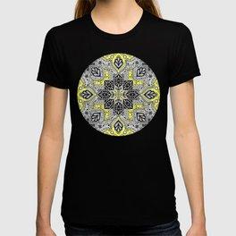 Boho Sunshine Medallion Pattern T-shirt