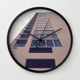 Artificial Building Wall Clock