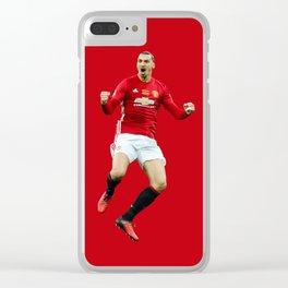 Ibrahimovic Celebrats Clear iPhone Case