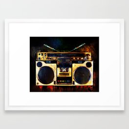 Radio is Killin Me Framed Art Print