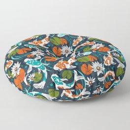 Koi Pond - Orange Floor Pillow