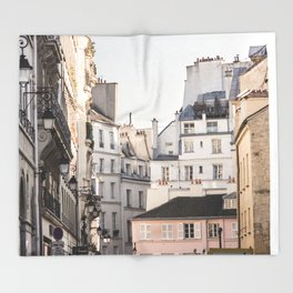 Isle Saint Louis in Paris Throw Blanket