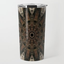 Mandala black Star Travel Mug