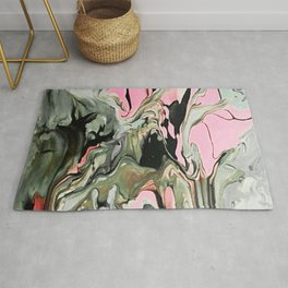 Dream in Greige and Pink Rug