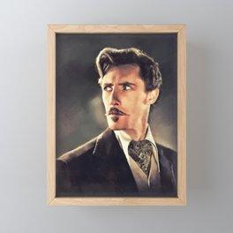John Carradine, Actor Framed Mini Art Print