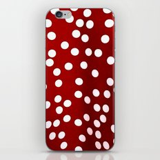 Red Polka Dots iPhone & iPod Skin