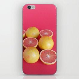 Pink Grapefruit iPhone Skin