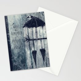 Rainy Ravens Stationery Cards