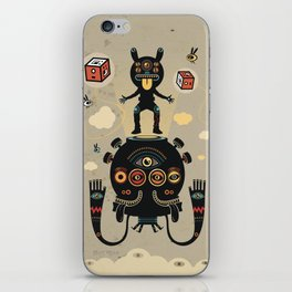 Monstertrap iPhone Skin
