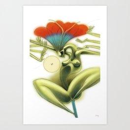 De los vuelos | Of flights { n°_ 002 } Art Print