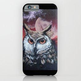 Cosmic Hooter iPhone Case