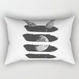 Draw me the moon Rectangular Pillow