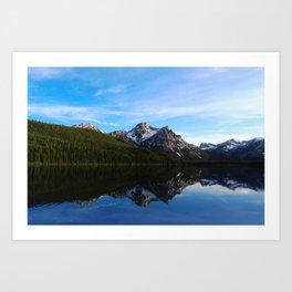 Reflections of Idaho Art Print