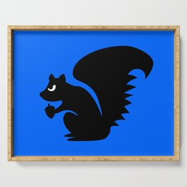 Angry Animals: Squirrel Serving Tray