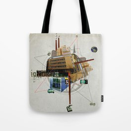 Collage City Mix 1 Tote Bag