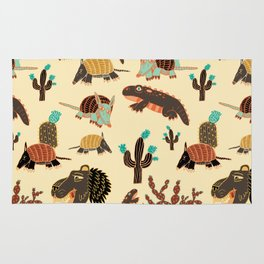 Desert Creatures Rug