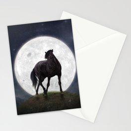 Night Horse Stationery Cards