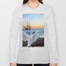In the sunset beach c Long Sleeve T-shirt