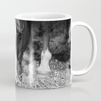 harley Mugs featuring Harley by Yanina May Photography