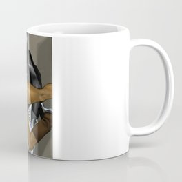 Sexy Space Cop Coffee Mug