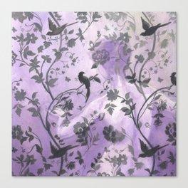Wallflower (in Violet) Canvas Print