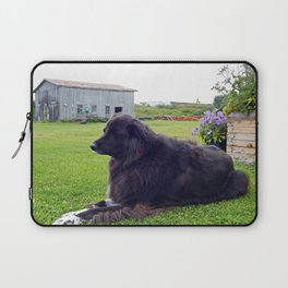 Country Dog Laptop Sleeve