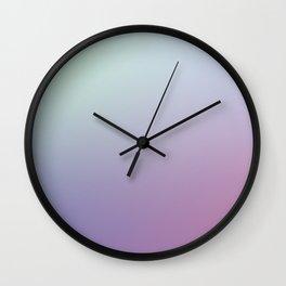 SLEEPYHEAD - Minimal Plain Soft Mood Color Blend Prints Wall Clock