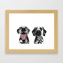 Dalmatians Framed Art Print